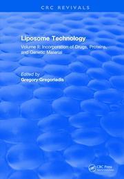 Liposome Technology: Volume II