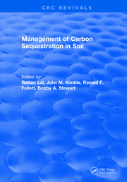 Management of Carbon Sequestration in Soil