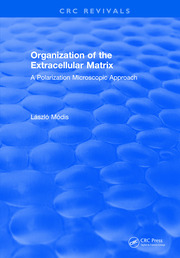 Organization of the Extracellular Matrix: A Polarization Microscopic Approach