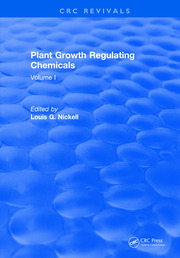 Plant Growth Regulating Chemicals: Volume I