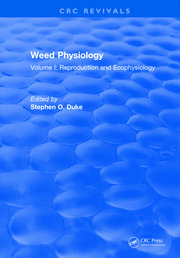 Weed Physiology: Volume I: Reproduction and Ecophysiology