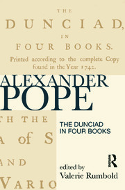 The Dunciad in Four Books