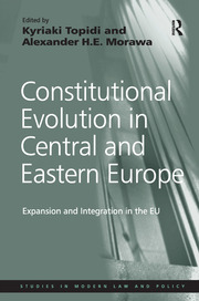 Constitutional Pluralism and Judicial Cooperation in the EU after the Eastern Enlargements: A Case Study of the Czech Tomáš Dumbrovský