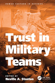 Trust in Military Teams - 1st Edition book cover