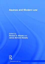 Aquinas and Modern Law