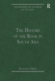 The History of the Book in South Asia