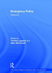 Emergency Policy: Volume III