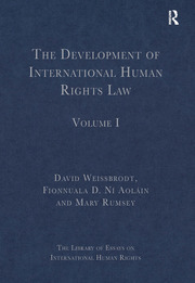 The Development of International Human Rights Law: Volume I