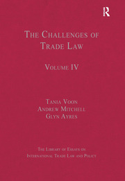 The Challenges of Trade Law: Volume IV