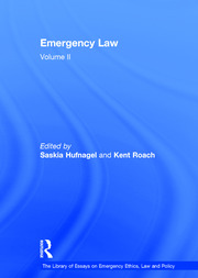 Emergency Law: Volume II