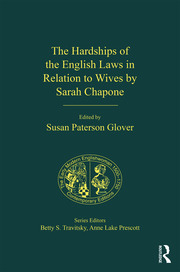 The Hardships of the English Laws in Relation to Wives by Sarah Chapone