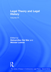 Legal Theory and Legal History: Volume IV
