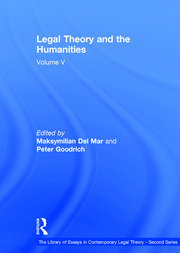 Legal Theory and the Humanities: Volume V