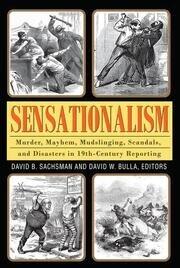 Sensationalism - 1st Edition book cover