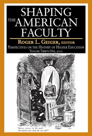 Shaping the American Faculty: Perspectives on the History of Higher Education