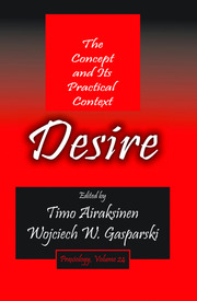 Desire: The Concept and its Practical Context