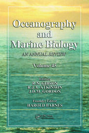 Oceanography and Marine Biology: An Annual Review, Volume 45