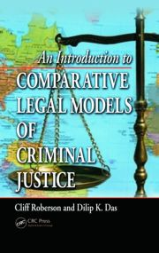 An Introduction to Comparative Legal Models of Criminal Justi - 1st Edition book cover