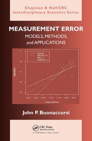 Measurement Error: Models, Methods, and Applications