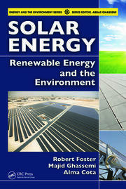 Featured Title - Solar Energy Renewable Energy & the Environment - 1st Edition book cover
