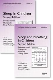 Sleep in Children and Sleep and Breathing in Children, Second Edition: Two Volume Set