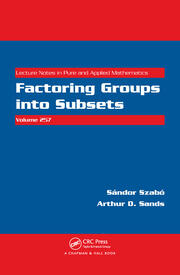 Factoring Groups into Subsets