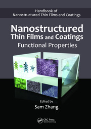 Nanostructured Thin Films and Coatings Functional Properties - 1st Edition book cover