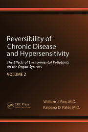 Reversibility of Chronic Disease and Hypersensitivity,Volume 2: The Effects of Environmental Pollutants on the Organ System