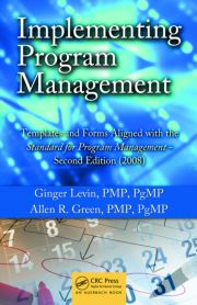 Implementing Program Management - 1st Edition book cover