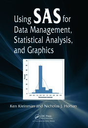 Using SAS for Data Management Statistical Analysis - 1st Edition book cover