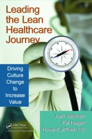 Featured Title - Leading the Lean Healthcare Journey - 1st Edition book cover