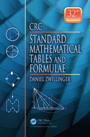 CRC Standard Mathematical Tables and Formulae, 32nd Edition