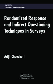 Randomized Response and Indirect Questioning Techniques in Surveys