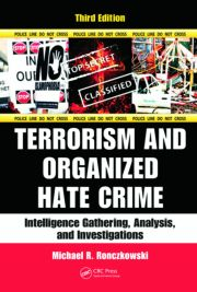 Featured Title - Terrorism & Organized Hate Crime Intelligence Gather 3e - 1st Edition book cover