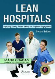 Lean Hospitals 2e - 1st Edition book cover