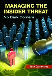 Featured Title - Managing the Insider Threat No Dark Corners - 1st Edition book cover