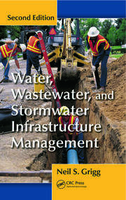 Featured Title - Water Wastewater Stormwater Infrastructure Mgmt 2ed - 1st Edition book cover