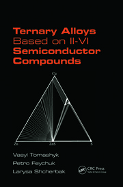 Featured Title - Ternary Alloys Based on II-VI Semiconductor Compounds - 1st Edition book cover