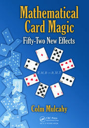 Featured Title - Mathematical Card Magic Fifty-Two New Effects - 1st Edition book cover
