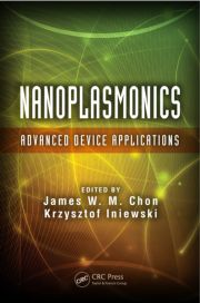 Featured Title - Nanoplasmonics Advanced Device Applications - 1st Edition book cover