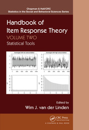 Handbook of Item Response Theory, Volume Two: Statistical Tools
