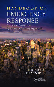 Handbook of Emergency Response: A Human Factors & Systems - 1st Edition book cover