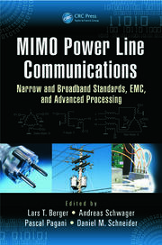 Featured Title - MIMO Power Line Communications - 1st Edition book cover