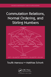 Commutation Relations, Normal Ordering, and Stirling Numbers