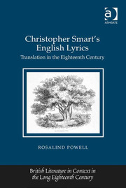 Christopher Smart's English Lyrics: Translation in the Eighteenth Century