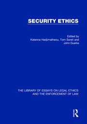 Security Ethics