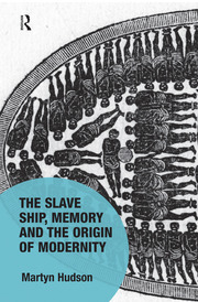 Featured Title - The Slave Ship, Memory and the Origin of Modernity - 1st Edition book cover