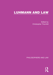 Luhmann and Law