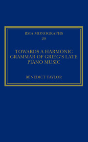 Towards a Harmonic Grammar of Grieg's Late Piano Music: Nature and Nationalism