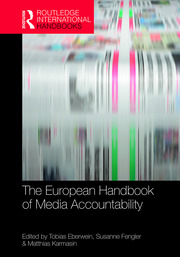 The European Handbook of Media Accountability - 1st Edition book cover